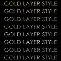 Gold and Silver Layer Styles by emperorwarion