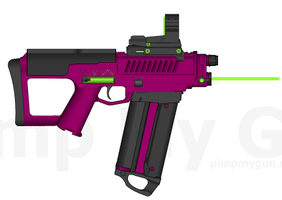 Hera's XR-554 Energy SMG by Storm-X