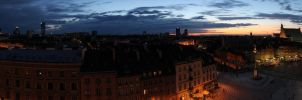 Warsaw (very long panorama) by RivenPine