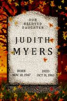 Judith Myers Tombstone II by goodben