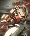 Ryu Sweating -Street Fighter- by squeaky05