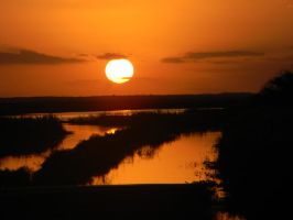 Sunset in West Palm Beach, Florida by gdsbngd2me