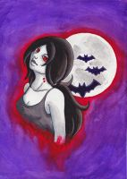 Marceline the Vampire Queen by kataiya