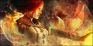 Triss Merigold signature by Paulinos