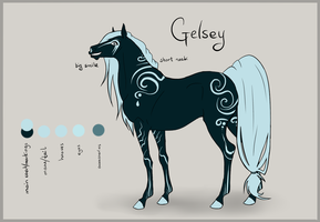 .Gelsey - Ref Sheet. by Alvardy