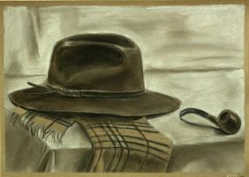 Still life with hat by Cunami-in-october