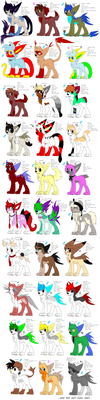 My doge characters (V.3) by Nopsy