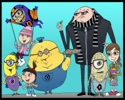 Gru's New Minions by Lordwormm