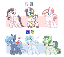 Pony Adopts Batch #4 : OPEN by Flarbu-Adopts