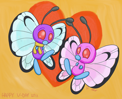 A Very Butterfree Valentines by ChibiBeckyG