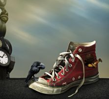 Converse All-Star, Dies Hard by Splat-Shot