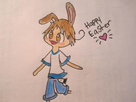 Happy Easter C: by Runningstream990