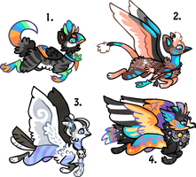 Gryphons sold by griffsnuff