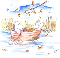 October boating by Lahara