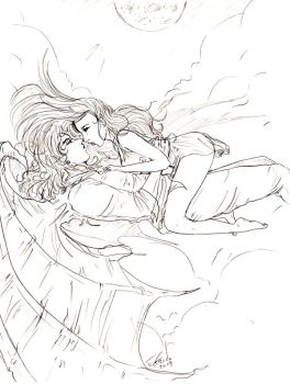 Fly with me C+M WIP by Destinyfall