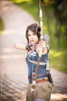 Lara Croft Tomb Raider  by CamiAloy