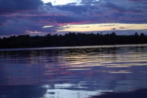 Eagle River Sunset by MysteryWoman101