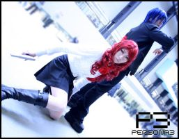 P3 cosplay - Leaders by cat-cat