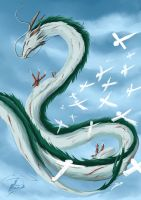 Haku ( dragon) by Super-Furet