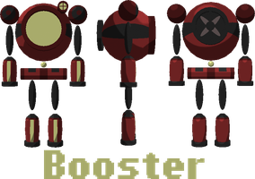 Booster by frostedWarlock