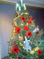 Close-Up of The Wizard of Oz Christmas Tree by TheWizardofOzzy