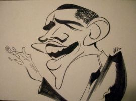 Barack Obama by aaronphilby