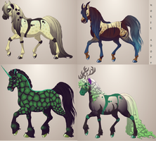 Horse Adopts -OPEN- by Arklen