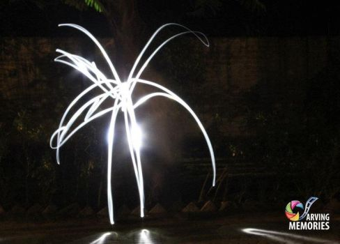 Playing with Lights - Abstract by sheze