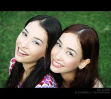 Twins: KC and Bebs 2 by slumberdoll