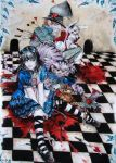 Alice in murderland by Hollow-Moon-Art