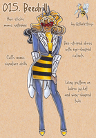 PokeFashion 015: Beedrill by thelettergii