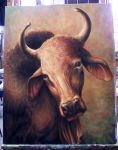 Head of an Ox by GreyOculus