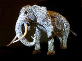 Elephant sculpture 4 by braindeadmystuff