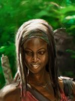 Michonne by Memed