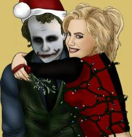 Joker x Harley: Happy Harleydays by BLOOD-and-LUST-87