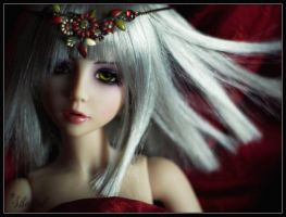 Suzume red spring by shaiel