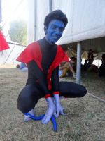 Nightcrawler (X-Men) - Riminicomix 2015 by Groucho91