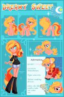 Dreamy Sweet Reference Sheet by xWhiteDreamsx