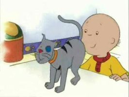 Caillou is a perv by BIGSEXYEVAN