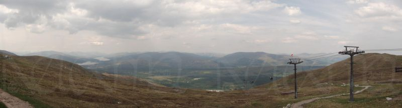 Panoramic view from Nevis Mountain Range by Reixma