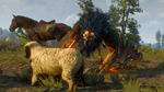 The witcher 3 Roach photobomb by ParRafahell