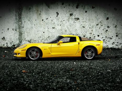 Corvette Z06 Wallpaper 2 by FordGT