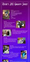 DIY Galaxy Shoes by RiddleMaker