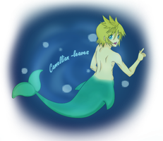 Deviant ID: Ventus (Merman ver.) by Camellian-leaves