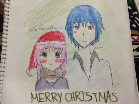 Amuto Christmas by oria-chan14kawaii