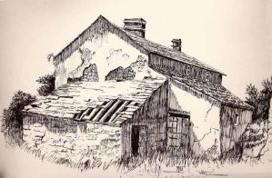 Old House in Ink by arch-nsha