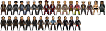 Doctor Who 1963-2014 by p51cmustang