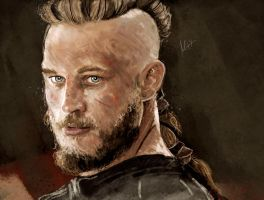Ragnar, Portrait by Sweetcidia