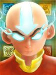 Aang sketch by theonlycpizzle