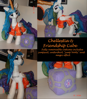 Chellestia and Friendship Cube MLP Plushie Contest by Drachefrau